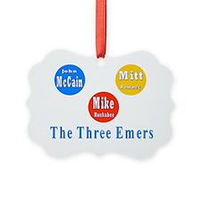 3 emers Ornament