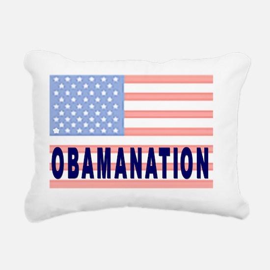 OBAMANATION Rectangular Canvas Pillow