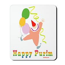 Happy Purim Multi flat Mousepad