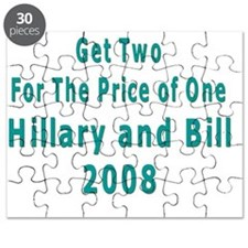 2 for 1  Clinton T Shirt Puzzle