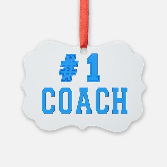#1 coach Ornament