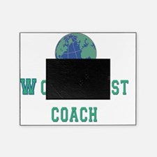 worlds best coach 2 flat Picture Frame
