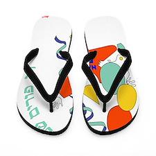 Happy Purim Flip Flops