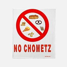 NO CHOMETZ Throw Blanket