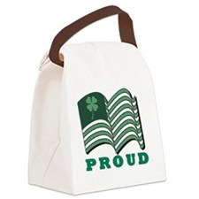 PROUD IRISHflat Canvas Lunch Bag