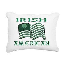IRISH AMERICAN FLAT Rectangular Canvas Pillow
