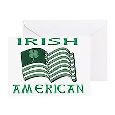 IRISH AMERICAN FLAT Greeting Card