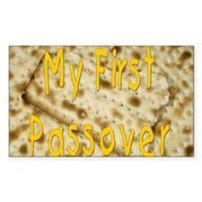 my first passover matzoh. png Decal