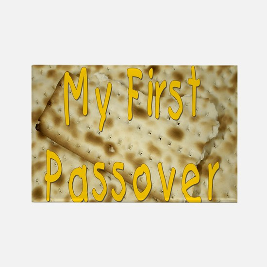 my first passover matzoh. png Rectangle Magnet