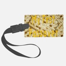 my first passover matzoh. png Luggage Tag