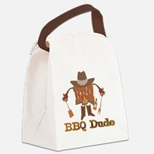 BBQ Dude 2 Canvas Lunch Bag