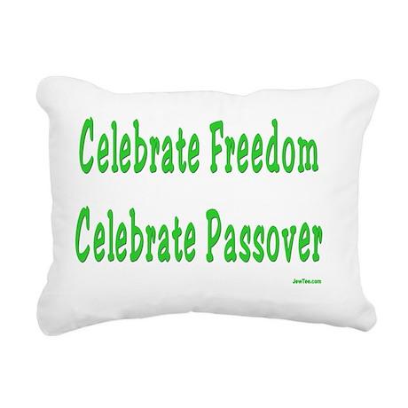 Freedom Rectangular Canvas Pillow
