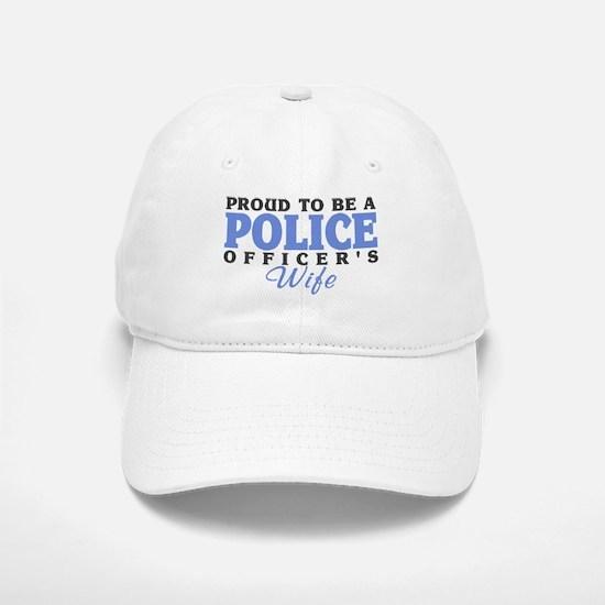Proud Police Wife Baseball Baseball Cap