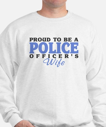 Proud Police Wife Sweatshirt