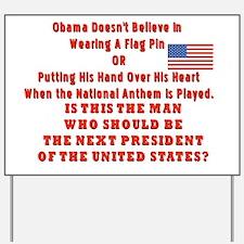 Obama Flag Yard Sign