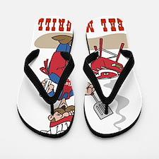 Real Men Grill Flip Flops