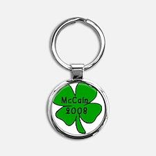 McCain 2008 Round Keychain