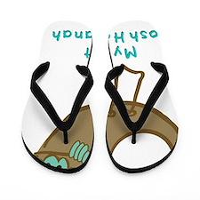 FIrst Rosh Hashanah flat Flip Flops