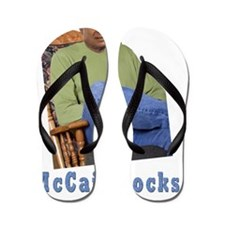 McCain Rocks Flip Flops