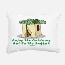 Enjoy the Outdoors flat Rectangular Canvas Pillow