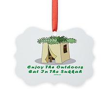 Enjoy the Outdoors flat Ornament