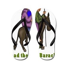 Lead the Way Barack flat Flip Flops