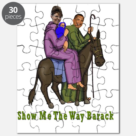 Show Me The Way Barack flat Puzzle