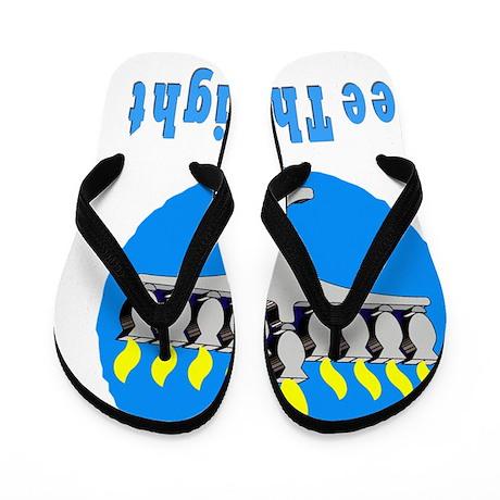 3-See THe Light flat Flip Flops