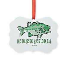 Fat Bass flat Ornament