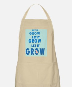 2-lET iT gROW 2 BKGD Apron
