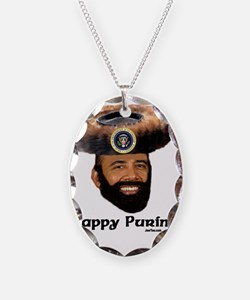 Obama Purim Necklace