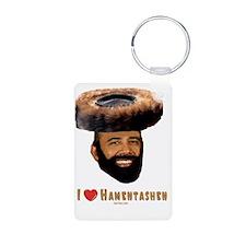 I Love Hamentashen flat Keychains