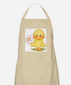 Duck with flower Apron