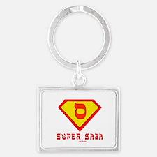 Super Saba flat Landscape Keychain