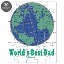 Worlds Best Dad flat Puzzle