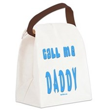 cALL ME DADDY FLAT Canvas Lunch Bag