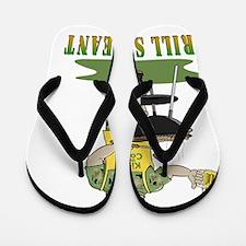 2-GRILL SERGEANT FLAT Flip Flops