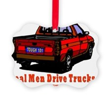 rEAL MNE DRIVE TRUCKS Ornament