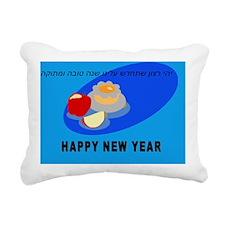 Apple and Honey RESIZED Rectangular Canvas Pillow