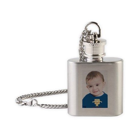 MAcho Matzoh Man Flask Necklace