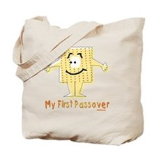 2-My First Passover Flat Tote Bag