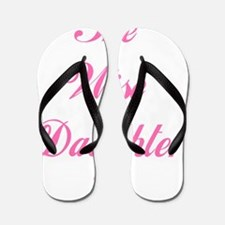 Wise Daughter pink flat Flip Flops
