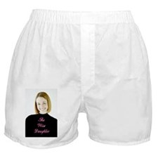 Wise Daughter Girl Boxer Shorts