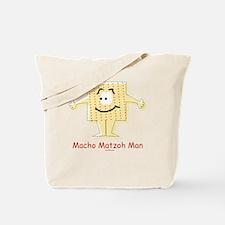 Macho Matzoh Man Tote Bag