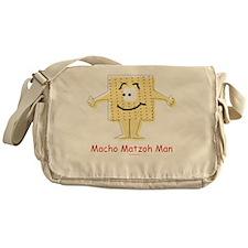 Macho Matzoh Man Messenger Bag
