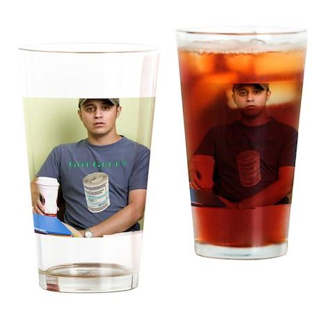 â??Got Gelt Manâ? Drinking Glass