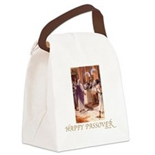 HAppy PAssover Pharoah Canvas Lunch Bag