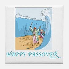 HAPPY PASSOVER CARD 1 Tile Coaster