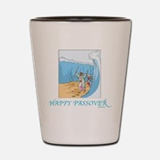 HAPPY PASSOVER CARD 1 Shot Glass