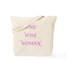 Wise Woman flat Tote Bag